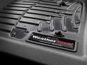 WeatherTech close up